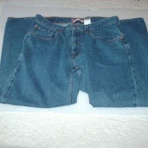 Pair of Levi's 569 loose straight leg jeans
